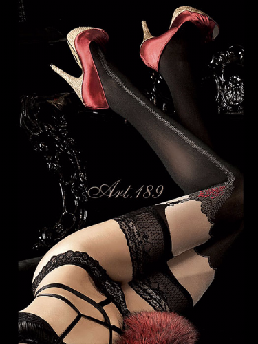 Ballerina Black Hold Ups